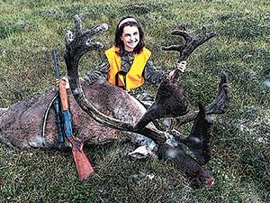 Sarah Pucel, Wayzata, MN: Caribou Hunting