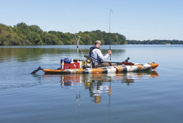 Kayaks opening up new options, waterways for anglers