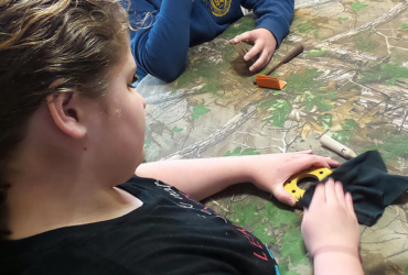 DIY turkey calls: Build pots and pegs with kids