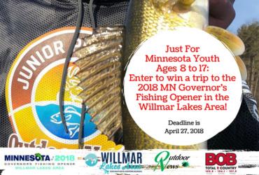 Enter fishing opener kids contest