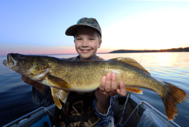Check ice-out status, plus tactics for the Minnesota walleye opener