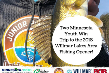 Youths win seats to Minnesota Governor's Fishing Opener through Outdoor News
