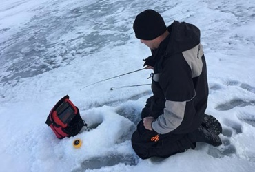 Ice fishing tips: To keep warm on the ice, stay cool first