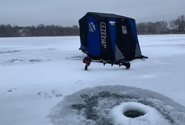 Ice fishing tip: Organize and protect your ice fishing gear, then spend more time catching fish!
