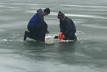 Ice fishing tip: Pay attention to detail during a tough walleye bite. Part 1: Set-lines