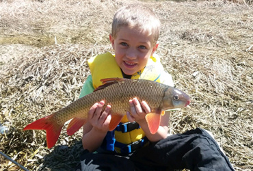Scratch your fishing itch with springtime river rough fish