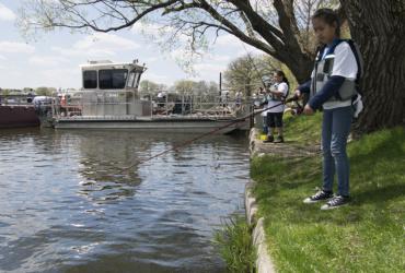 Take a Kid Fishing Weekend is June 7-9