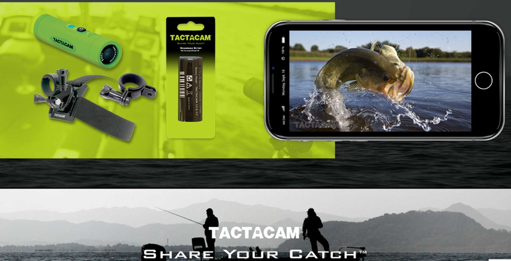 Tactacam's innovative camera systems offer the complete package for recording of your favorite past times. With the powerful Tactacam models, users can enjoy high resolution and powerful magnification with resolution and picture quality that competitive products can't touch. Wi-fi and APP viewing options, remote control activation, and insane battery life are all standard features of the Tactacam lineup. And with the introduction of the FISH-i system, anglers now also have high quality options to record and relive those epic memories.