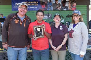 MN DNR honors 2 youths for their conservation efforts