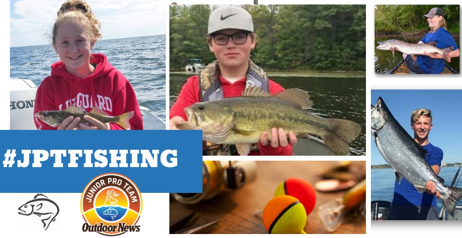 Junior Pro Team Members showcase of angling expertise