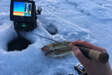 Ice fishing tips: Go-to baits and jigging tactics for first ice walleyes