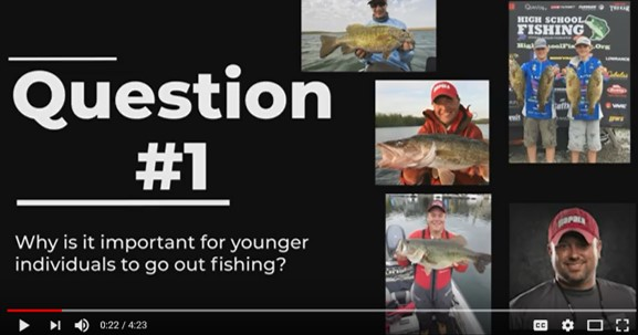 Hear from sportfishing industry pros incluidng Tony Roach, Joel Nelson, Troy Lindner, founders of Juice Baits: teen anglers Tyler and Kyle Bahr and the field manager for Rapala, Dan Quinn as they share thoughts on what it means for kds to start fishing.