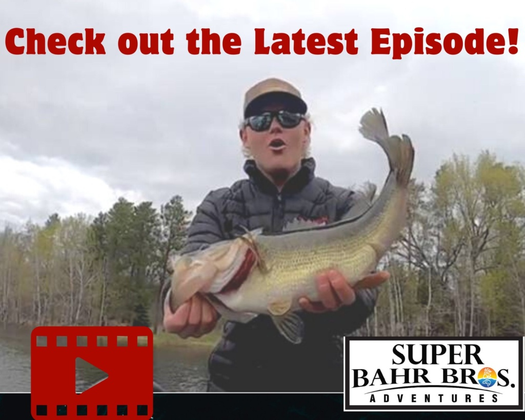 Season 1 Episode 10 of the Super Bahr Bros. Adventure Series featuring JPT Captains Kyle and Tyler Bahr as they do some early season bass angling.