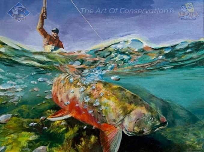 State Fish Art Contest 2022 Copyright image